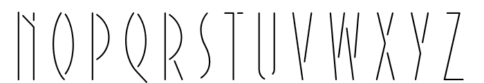 Extraordinaire Variable Shade Font UPPERCASE