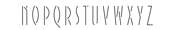 Extraordinaire Variable Shade Font LOWERCASE