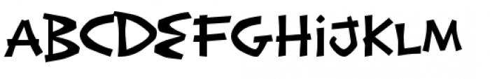 Exotic Island BTN Regular Font UPPERCASE