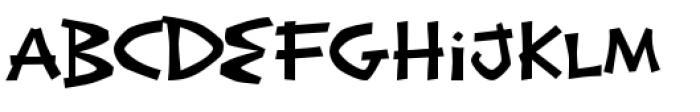 Exotic Island BTN Regular Font LOWERCASE
