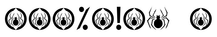 EXPEDITION ANNIHILATION Font OTHER CHARS