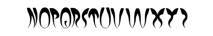 EXPERIMENT BUTTERFLY Font LOWERCASE