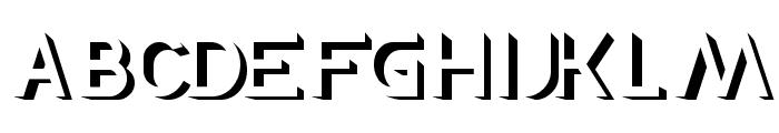 EXPOSURE Font UPPERCASE