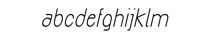 Exacta Bold Italic Font LOWERCASE
