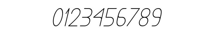 Exacta Medium Italic Font OTHER CHARS