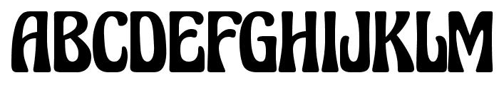 Excalibur Nouveau Medium Font UPPERCASE