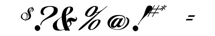 Excalibur Script Font OTHER CHARS