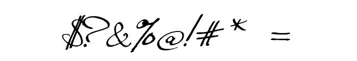 Excellentia in excelsis Font OTHER CHARS