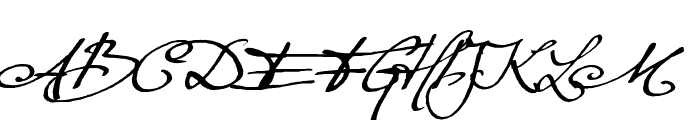 Excellentia in excelsis Font UPPERCASE