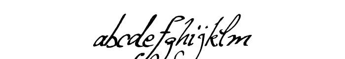 Excellentia in excelsis Font LOWERCASE