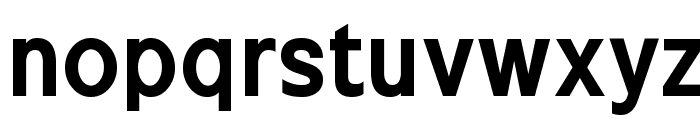 Excite Bold Font LOWERCASE
