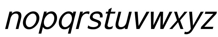 Excite Italic Font LOWERCASE