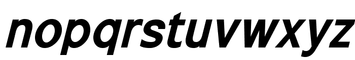 ExciteBoldItalic Font LOWERCASE