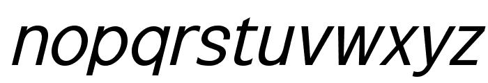 ExciteItalic Font LOWERCASE