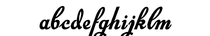 Exiles Font LOWERCASE