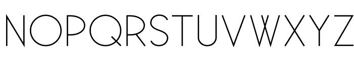 Existence-Light Font UPPERCASE