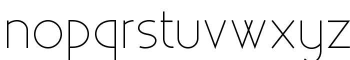 Existence Unicase Light Font LOWERCASE