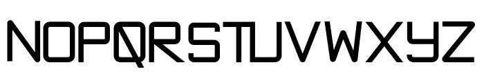 Exninja Bold Font UPPERCASE