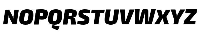 Exo 2 Black Italic Font UPPERCASE