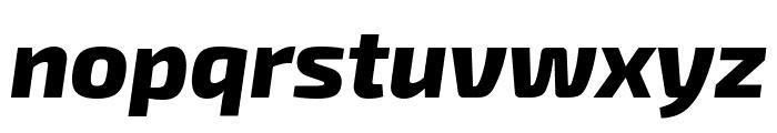 Exo 2 Extra Bold Italic Font LOWERCASE