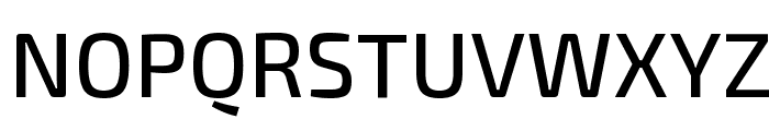 Exo 2 Medium Font UPPERCASE