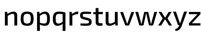 Exo 2 Medium Font LOWERCASE