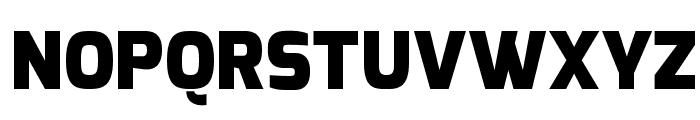 Exo Black Font UPPERCASE