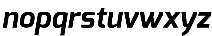 Exo Bold Italic Font LOWERCASE