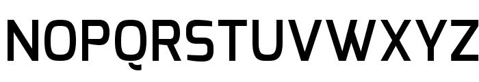 Exo DemiBold Font UPPERCASE