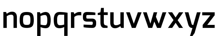 Exo DemiBold Font LOWERCASE