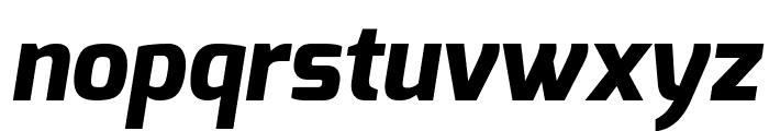 Exo ExtraBold Italic Font LOWERCASE