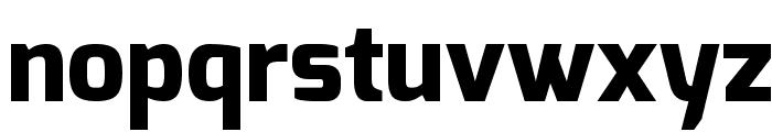 Exo ExtraBold Font LOWERCASE