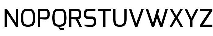 Exo Medium Font UPPERCASE