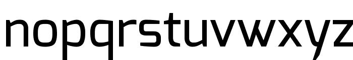 Exo Medium Font LOWERCASE