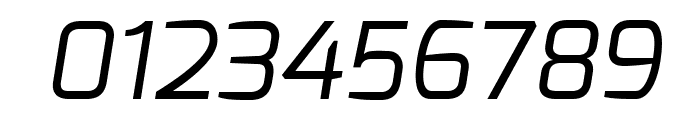 Exo Regular Italic Font OTHER CHARS