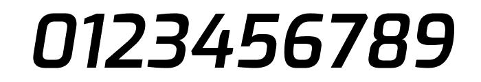 Exo SemiBold Italic Font OTHER CHARS