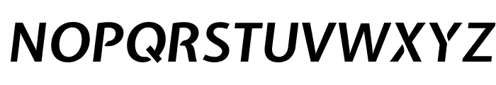 Expletus Sans Bold Italic Font UPPERCASE