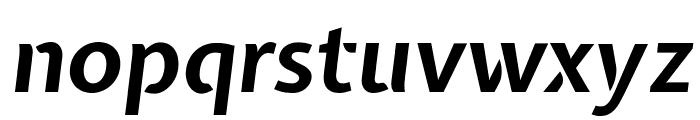 Expletus Sans Bold Italic Font LOWERCASE
