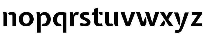 Expletus Sans Bold Font LOWERCASE