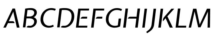 Expletus Sans Italic Font UPPERCASE