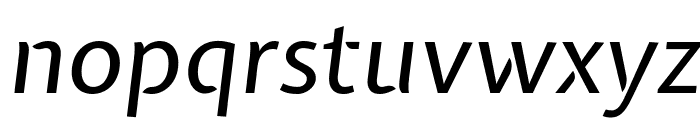 Expletus Sans Italic Font LOWERCASE