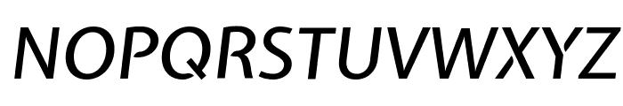 Expletus Sans Medium Italic Font UPPERCASE