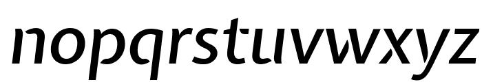 Expletus Sans Medium Italic Font LOWERCASE