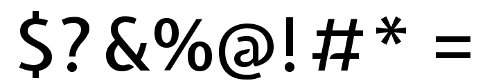 Expletus Sans Medium Font OTHER CHARS