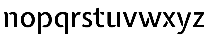 Expletus Sans Medium Font LOWERCASE