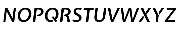 Expletus Sans SemiBold Italic Font UPPERCASE