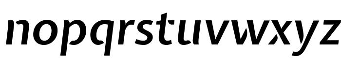 Expletus Sans SemiBold Italic Font LOWERCASE