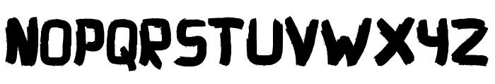 Explore Font UPPERCASE