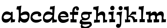 Expo Font LOWERCASE