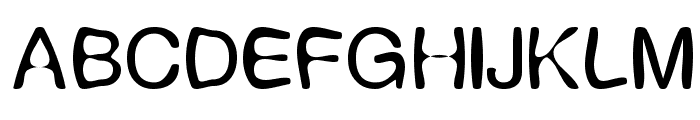 Expression Font UPPERCASE